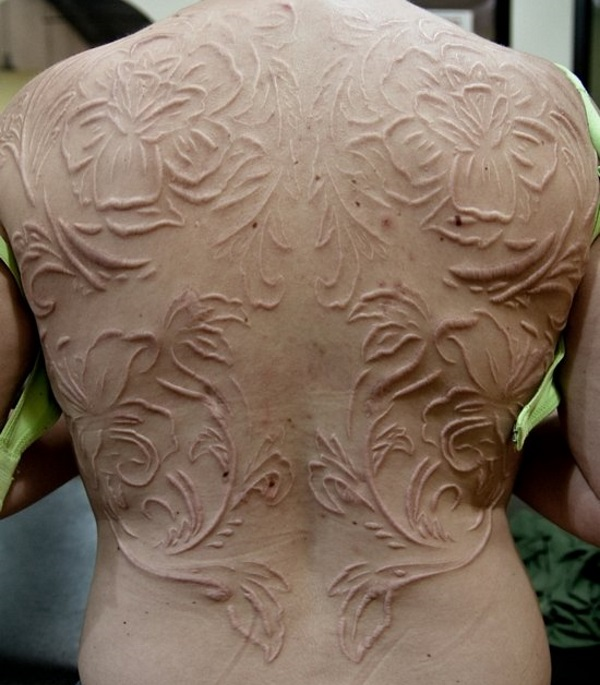 pretty scarification tattoos designs for women tattoosera. Black Bedroom Furniture Sets. Home Design Ideas