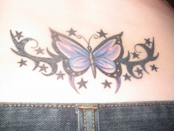 bea63cf36a10e 25+ Best Butterfly Tattoos Designs for Girls - Dzinemag