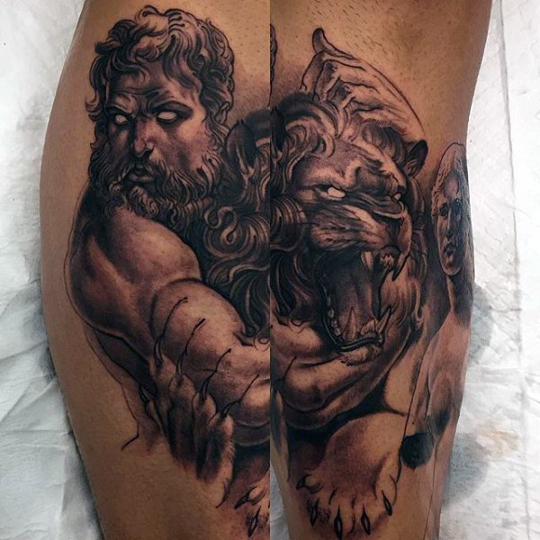 Greek Mythology Tattoos Design For Men - Tattoosera