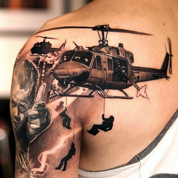 30+ 3D Tattoos Designs and Ideas