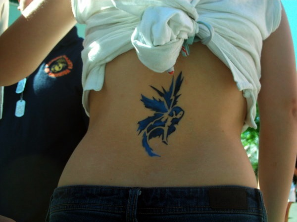 Adorable Fairy Tattoo Designs 16
