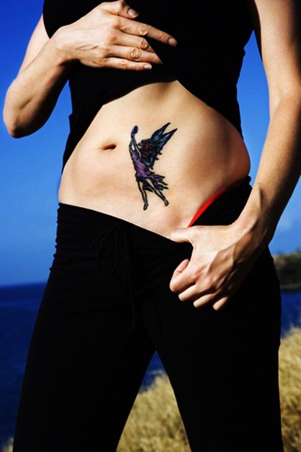 Adorable Fairy Tattoo Designs 20