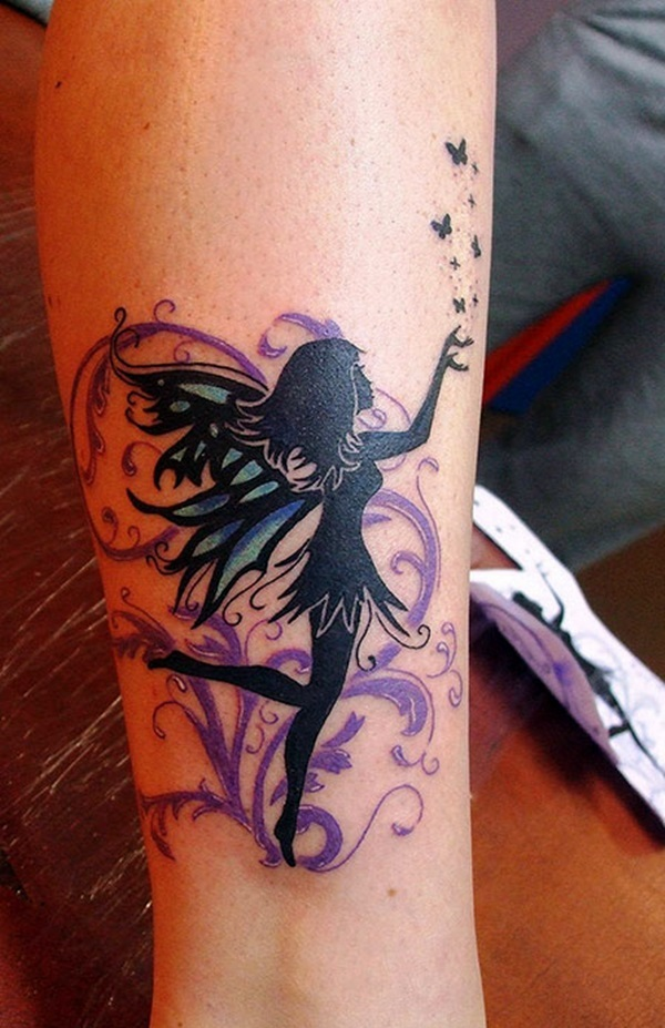 Adorable Fairy Tattoo Designs 21