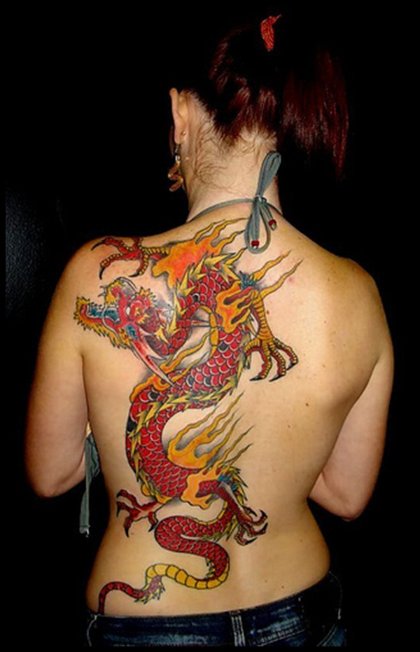 45 dragon tattoo designs for men and women tattoos era. Black Bedroom Furniture Sets. Home Design Ideas