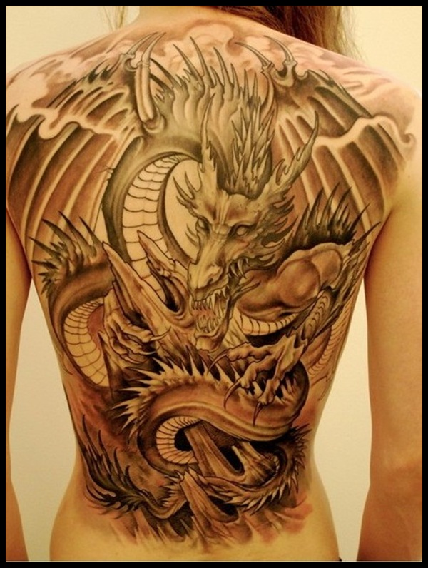 Dragon Tattoo Designs 37