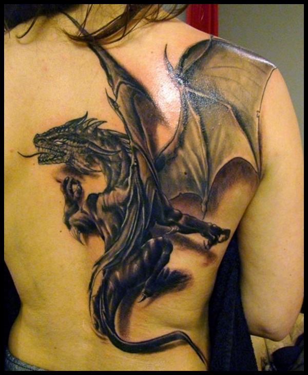 Dragon Tattoo Designs 44