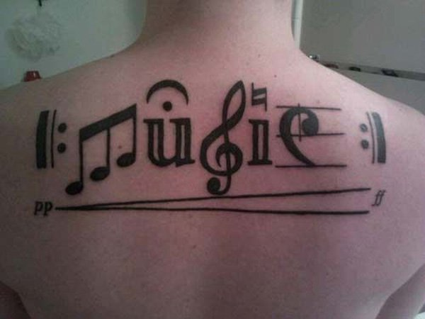 50+ Best Music Tattoos Designs and Ideas