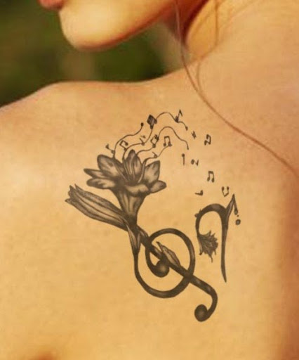 Music Tattoo Designs and Ideas 15