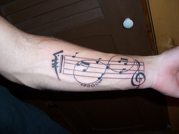 Music Tattoo Designs and Ideas 28