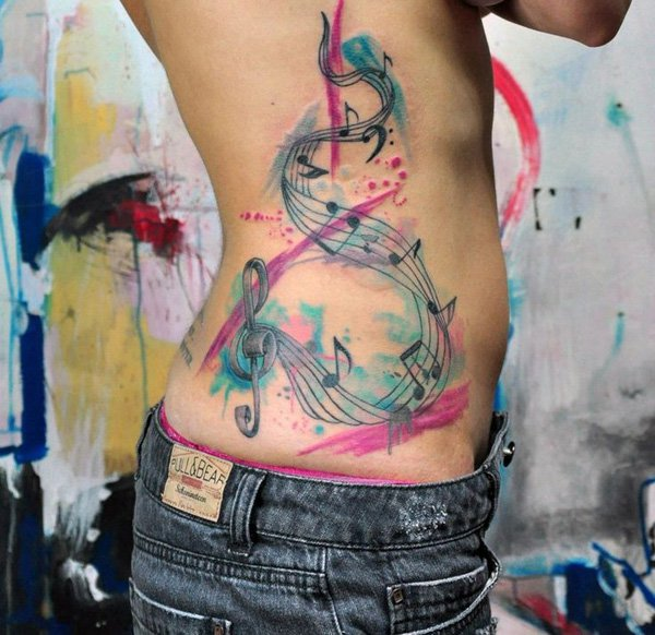 Music Tattoo Designs and Ideas 30