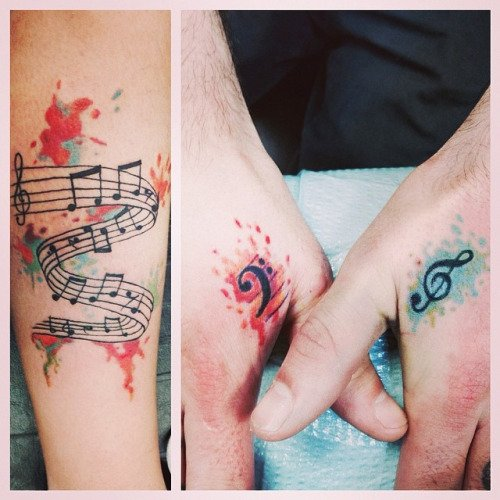 Music Tattoo Designs and Ideas 31