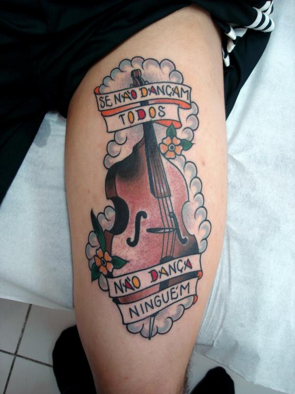 Music Tattoo Designs and Ideas 40