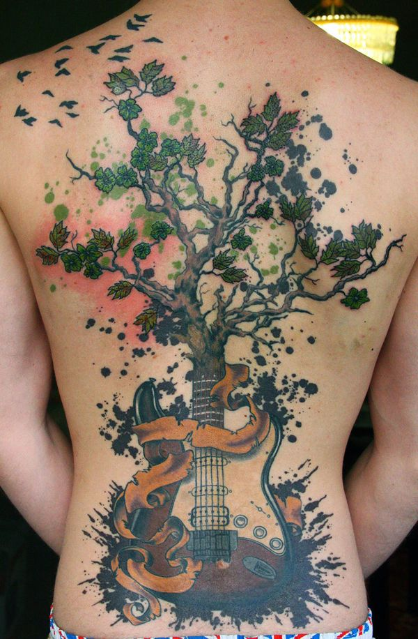 Music Tattoo Designs and Ideas 41