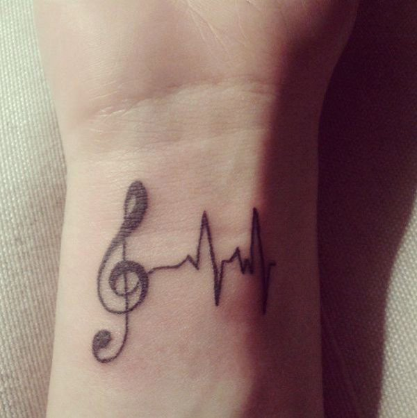 Music Tattoo Designs and Ideas 9