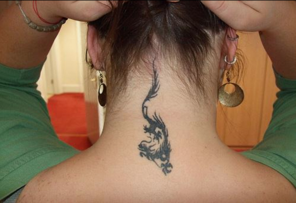 Neck Tattoo Designs For Male And Female 4