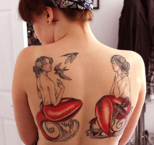 Appealing Tattoos for Women 39