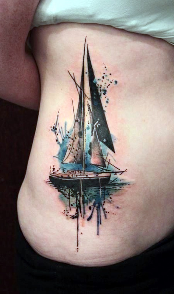 50 Best Boat Tattoos Designs and Ideas