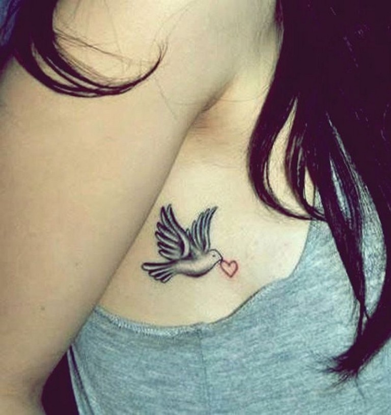 65 Best Dove Tattoos for Men and Women - Tattoos Era