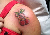 Cherry Tattoo Designs