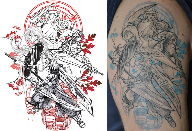 Game Tattoo Designs for Boys and Girls 23