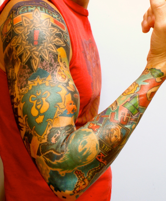 Game Tattoo Designs for Boys and Girls
