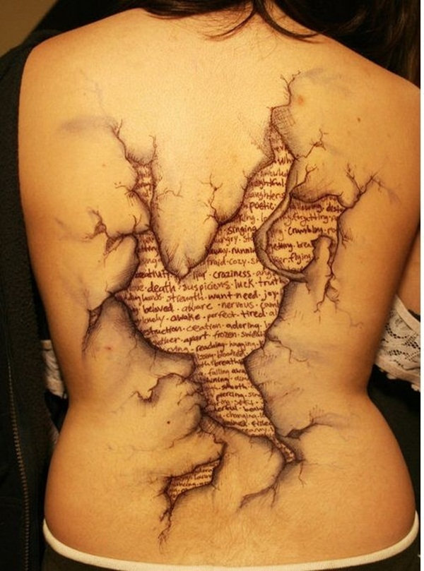 35 Amazing Ripped Skin Tattoo Design and Ideas