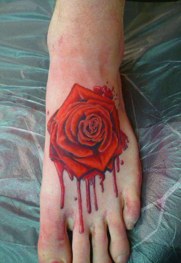 55 beautiful foot tattoo designs for girls tattoos era for Tattoo ideas for foot