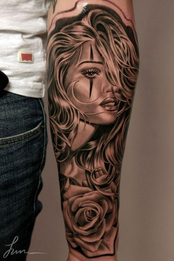 Forearm Tattoos for Men and Women 5