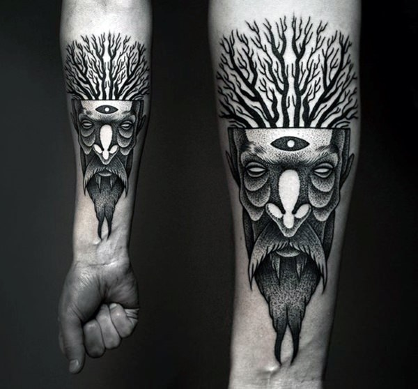 Forearm Tattoos for Men and Women 8