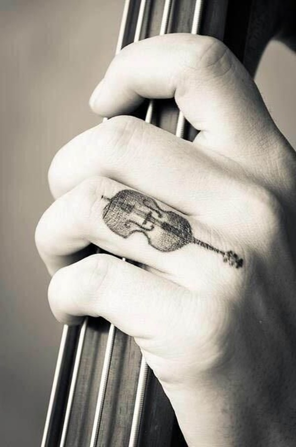 Guitar Tattoo Designs and Ideas 5