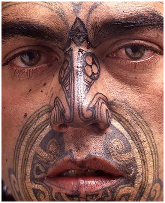 Maori Tribal Tattoo Designs 11