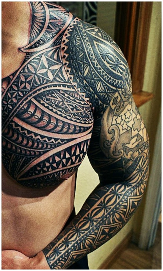 Maori Tribal Tattoo Designs 2