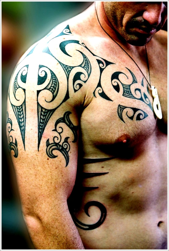 Maori Tribal Tattoo Designs 20