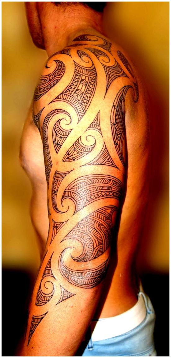 Maori Tribal Tattoo Designs 21