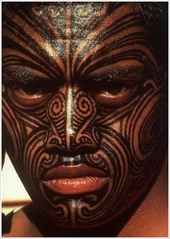 Maori Tribal Tattoo Designs 22