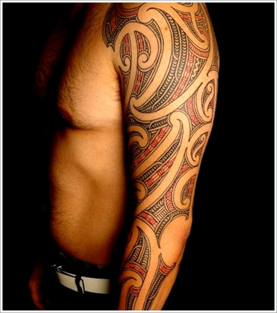 Maori Tribal Tattoo Designs 24
