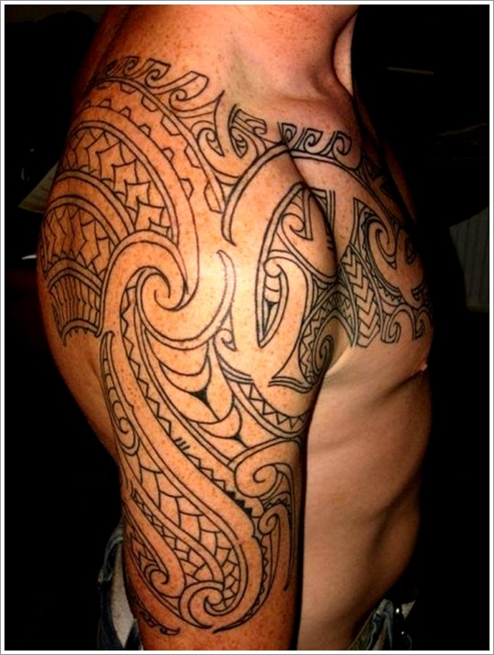 Maori Tribal Tattoo Designs 4
