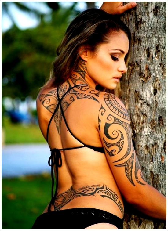 Maori Tribal Tattoo Designs 7
