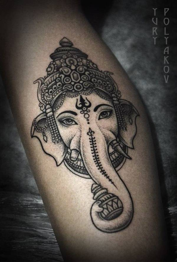 More Grayscale Ganesh