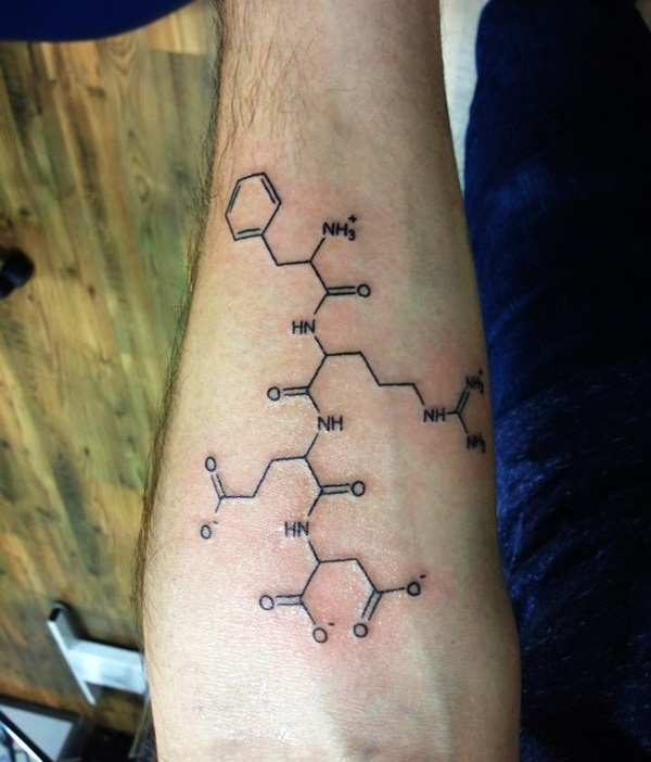 Science Tattoo Ideas 20