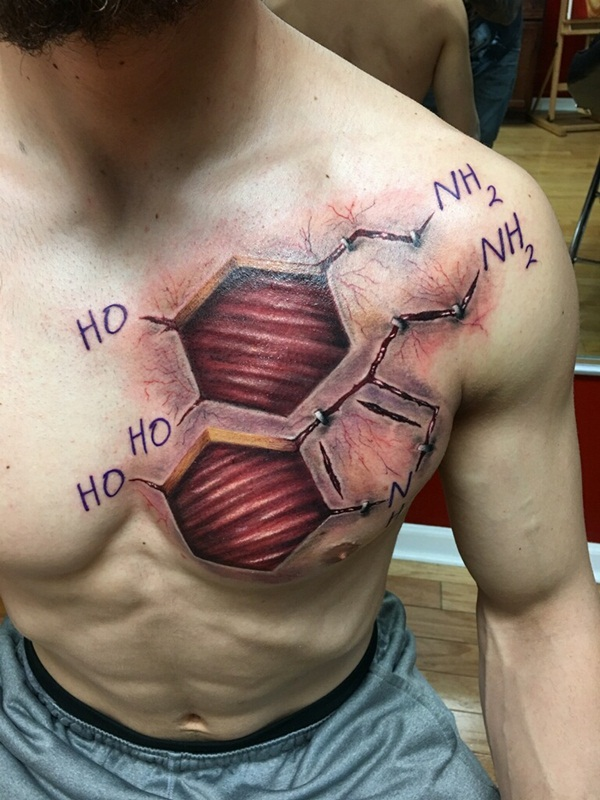 Science Tattoo Ideas 35