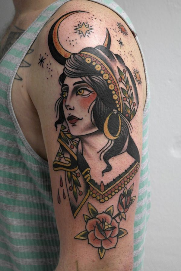 60+ Beautiful Gypsy Tattoos for Those Forever Wandering ...