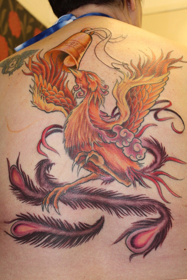 Beautiful Phoenix Tattoo Designs 13
