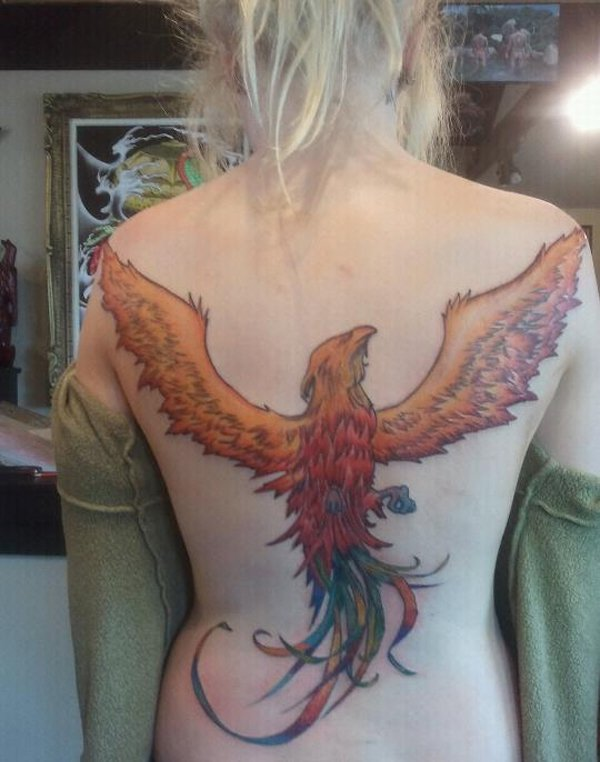 Beautiful Phoenix Tattoo Designs 19
