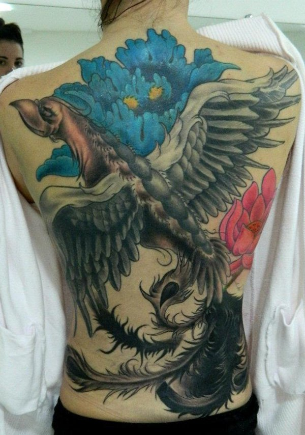 Beautiful Phoenix Tattoo Designs 27
