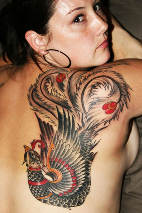 Beautiful Phoenix Tattoo Designs 32
