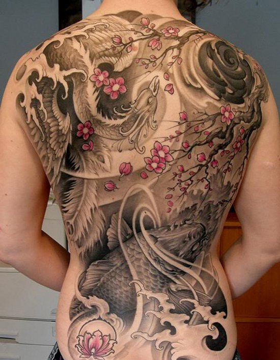 Beautiful Phoenix Tattoo Designs 34