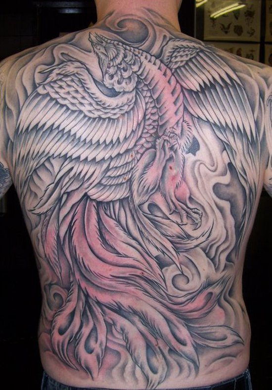 Beautiful Phoenix Tattoo Designs 35
