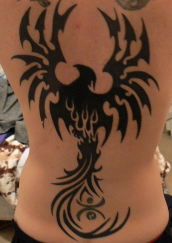 Beautiful Phoenix Tattoo Designs 7