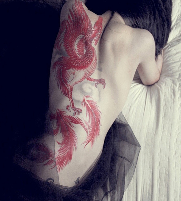 Beautiful Phoenix Tattoo Designs